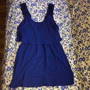 Tobi blue flowy dress